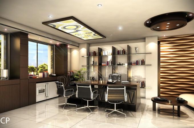 ceo room interior design project