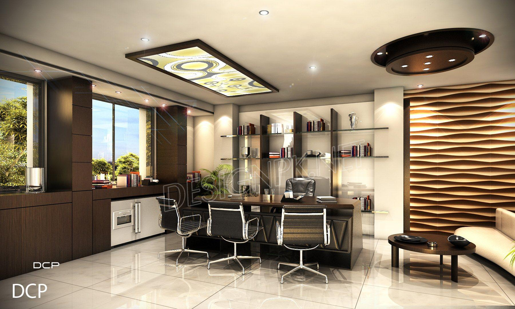 CEO Room Interior Design Pakistan
