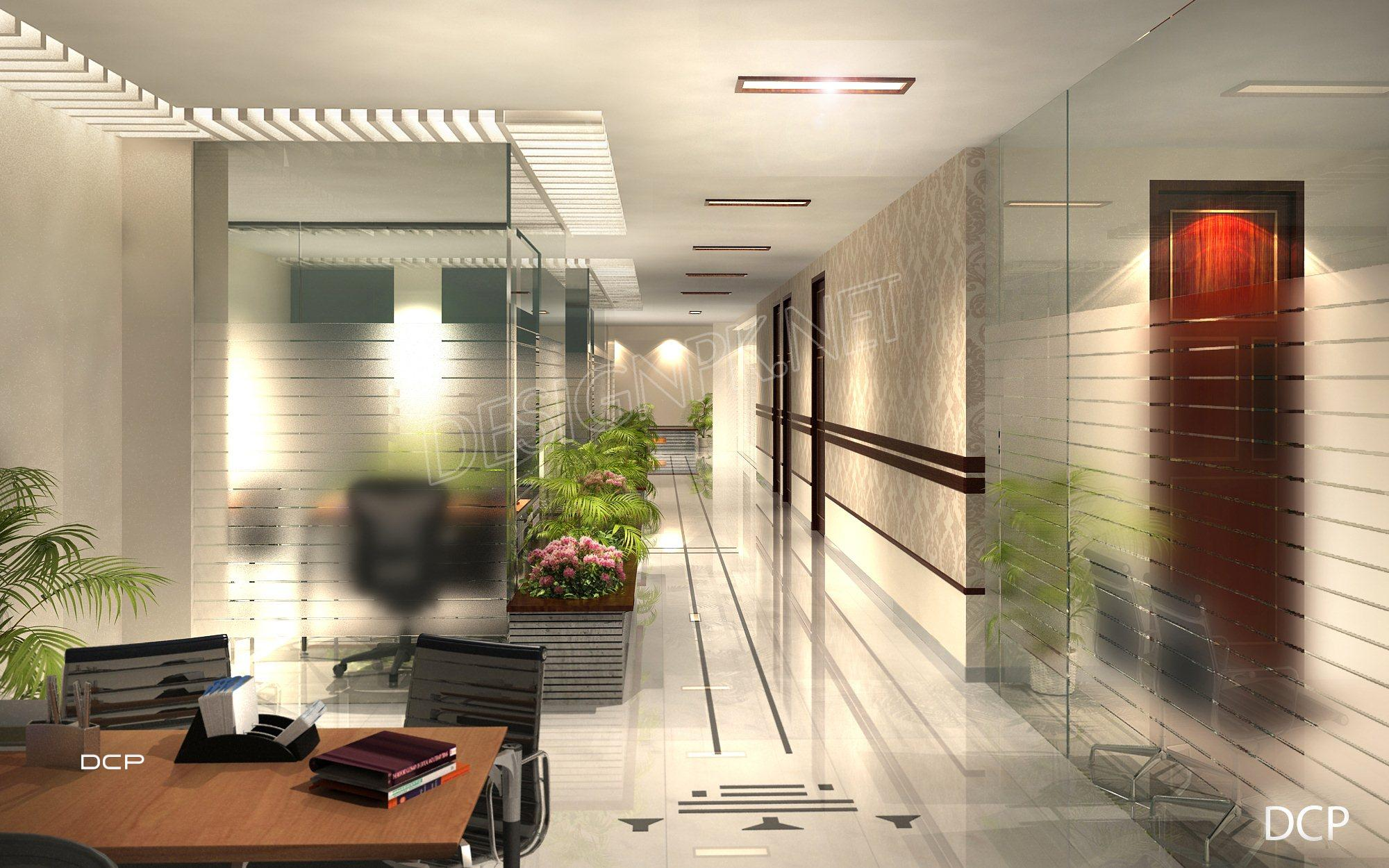 Office Corridor Interior Design Pakistan