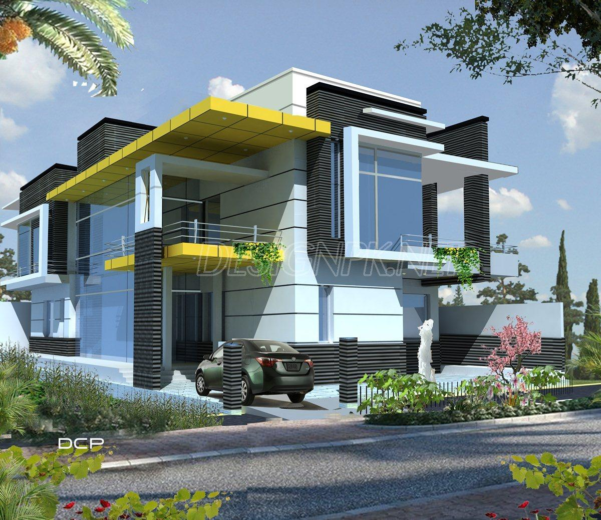 Villa Design And Construction Project In Pakistan